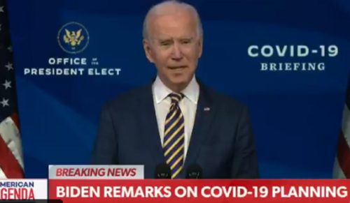 WATCH: Joe Biden Slips and Refers to Kamala Harris as 'President-Elect'… Saying 'Quiet Part' Out Loud'?