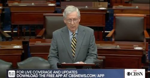 'Senate is Not Going to be Bullied' – After Sending Billions to Foreign Countries, McConnell Digs in Against Giving Americans $2,000 (VIDEO)