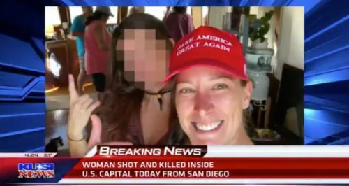 BREAKING: Unarmed Woman Shot and Killed by Capitol Police Identified – 14-Year USAF Veteran (VIDEO)