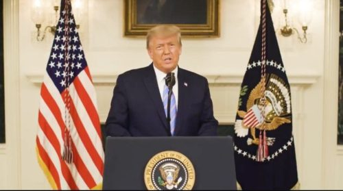 BREAKING: President Trump Releases Video Message From White House