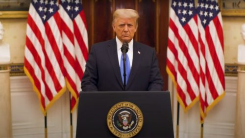 WATCH: President Trump's Farewell Speech to the Nation