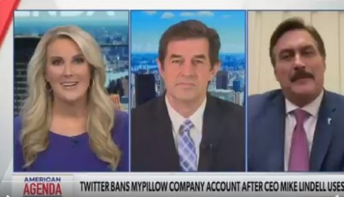 WATCH: Newsmax Host Has Mike Lindell on to Talk About Tech Censorship — Ends Up Censoring Him As Well — Then Storms Out of Studio