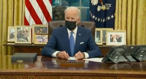 Dictator Biden Signs Three Executive Orders Aimed at 'Reforming US Immigration System' – Refuses to Answer Questions From Reporters (VIDEO)