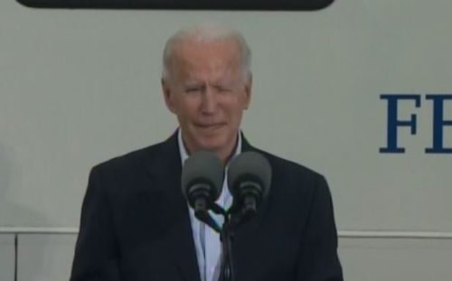 """Joe Biden in TX: """"I want to thank Representatives 'Shirley' Jackson Lee…Lizzie Pinnela, uh, excuse me, uh, Pinell,  and uh, what am I doing here?"""" [VIDEO]"""