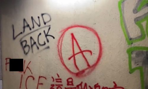 NOTHING TO SEE HERE: Portland Antifa and Black Lives Matter Vandalize USCIS Federal Building (VIDEO)