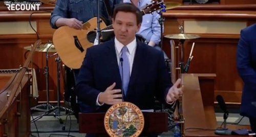 """""""Give me a Break!"""" – FL Gov. DeSantis Says He'll be Taking Executive Action Against Vaccine Passports (VIDEO)"""