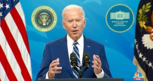 """Biden Calls on Governors to Reinstate Mask Mandates, Says He Shares CDC Director's Sentiment of """"Impending Doom"""" on Covid Pandemic (VIDEO)"""
