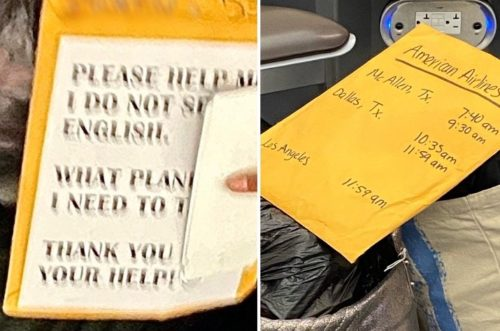 """""""Please Help Me, I Do Not Speak English"""" – Illegal Aliens Seen with Envelopes Full of Cash at McAllen Airport (VIDEO)"""