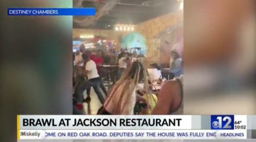 Massive Brawl Breaks Out at Mississippi Seafood Restaurant – Chairs, Glasses and Fists Go Flying! (VIDEO)