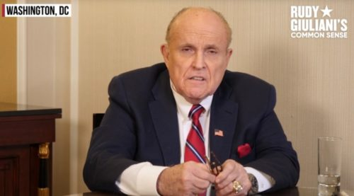 BREAKING: Crooked SDNY Raids Rudy Giuliani's Manhattan Apartment and Seizes His Electronic Devices