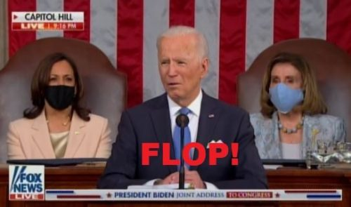 UPDATED: Biden Joint Session of Congress Ratings Are In: 22.6M Viewers Compared to Trump's 48 Million Viewers — But Joe TOTALLY Had 81 Million Votes