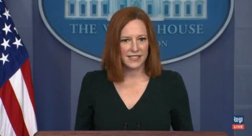 """Psaki Blames Trump for Border Crisis, Says Biden is Cleaning Up the Mess and """"Taking the Challenge Head On"""" (VIDEO)"""