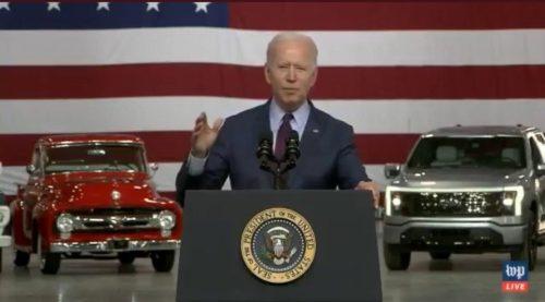 Joe Biden Jumbles Words, Repeats Lie That His Great-Grandfather Was a Coal Miner (VIDEO)