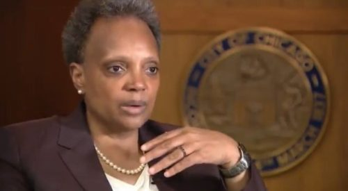 """Mayor Lightfoot Defends Her Racist Interview Policy: """"As a Woman of Color, as a Lesbian, It's Important to Me That Diversity is Put Front and Center"""" (VIDEO)"""