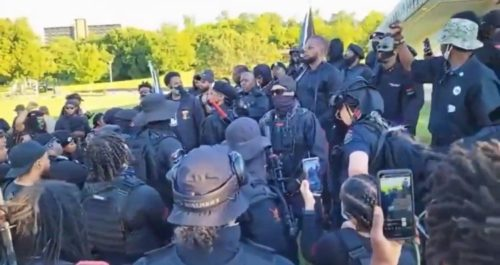 Armed Black Supremacists in Tulsa: 'There Will Come a Time When We Will Kill Everything White in Sight' (VIDEO)