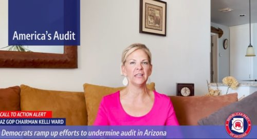 HUGE: Arizona GOP Leader Kelli Ward Sounds the Alarm – Dem Secretary of State Hobbs Is Sneaking Dem Operatives from Biased Orgs into Maricopa County Audit