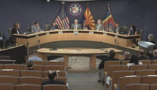 Live-Stream Video: Panicked Maricopa County Board of Supervisors Hold Monday Meeting Before Tuesday's Senate Grilling — Starting at 4 PM ET