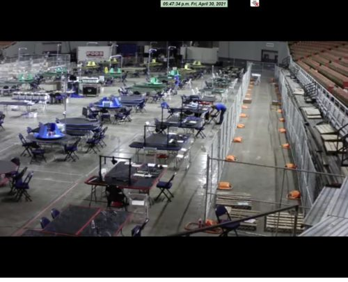 BREAKING: Arizona Officials Increase the Number of Tables at Veterans Memorial Coliseum to Speed Up Forensic Audit… Update: FROM 20 to 46 Overnight!