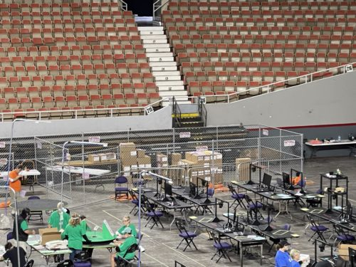ARIZONA AUDIT UPDATE: More Forensics Stations Set Up – FIVE MORE STATES Visit Audit Center – Only ONE PALLET OF BALLOTS REMAINING