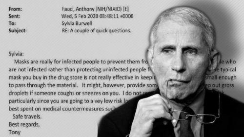 SMOKING GUN: FAUCI LIED, MILLIONS DIED — Fauci Was Informed of Hydroxychloroquine Success in Early 2020 But Lied to Public Instead Despite the Science #FauciEmails