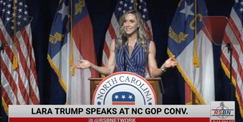 BREAKING: Lara Trump Announces She Is Not Running for US Senate Seat from North Carolina in 2022 – President Trump then Endorses Ted Bud (Video)