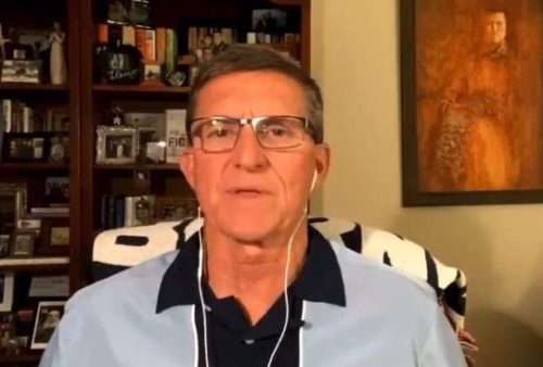 """Gen. Michael Flynn: """"Something Is Going to Happen. They Must Create Noise Before the Arizona Audit. They're Going to Have to Do Something"""" (VIDEO)"""