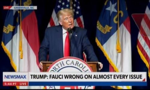 """BOOM! President Trump UNLOADS on Dr. Fauci: """"He's Has been Wrong on Almost Every Issue – Never So Wrong as When he Denied Where Virus Came From"""" (VIDEO)"""