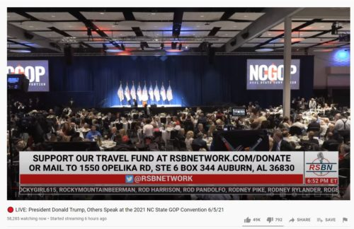 Over 138,000 Americans Tune in to Watch President Trump's NC Speech… Before He Even Takes the Stage — Joe Biden Is LUCKY to Get 1,000