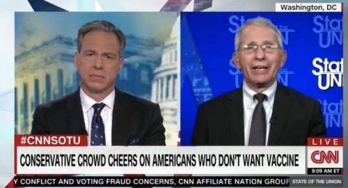 """""""It's Horrifying"""" – Fauci Triggered by CPAC Crowd Cheering on Americans Who Don't Want Experimental Covid Vaccine (VIDEO)"""