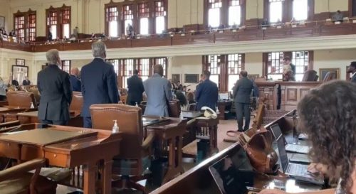 Texas House Votes to Send Law Enforcement to Arrest Democrats After They Return to Texas Who Fled State to Block GOP Voting Laws