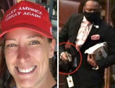 Trump Supporter Charlie Kirk Reveals Lt. Michael Byrd as Shooter of Ashli Babbitt in a TV First (VIDEO)