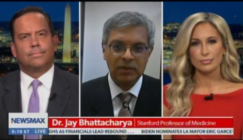 """Stanford Dr. Jay Bhattacharya Calls US COVID Response """"Single Biggest Public Health Mistake in History"""" (VIDEO)"""