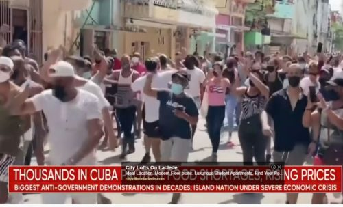 Cuban Authorities Cut Off Internet Sites and Social Media Following Mass Protests — Like Tech Giants do to Trump and Conservatives here in US