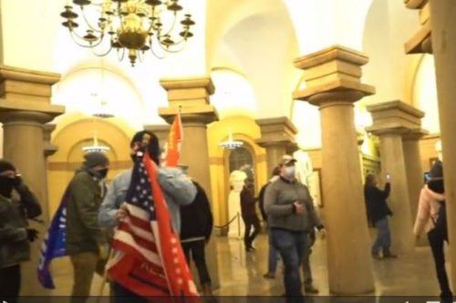 IT WAS ALL A LIE: Congress Was Evacuated on Jan. 6 Due to Pipe Bomb Threat — Not Because of Trump Supporters Walking Halls